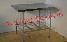 Стол кухонный из нержавеющей стали (фото 1)