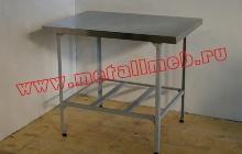 Стол кухонный из нержавеющей стали (фото 2)