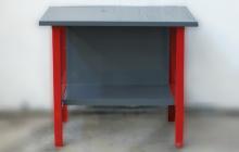 Фото металлического слесарного стола