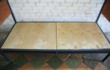 Кровать армейская  типа Ф вид 5