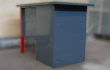 Конструкция слесарного стола
