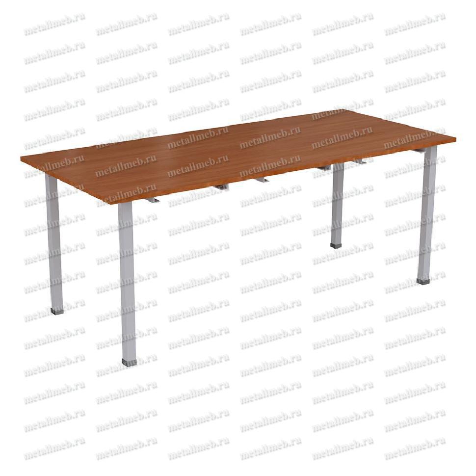 Фото стола на металлическом каркасе