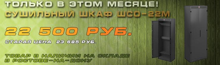 Спецпредложение на металлический сушильный шкаф ШСО-22М